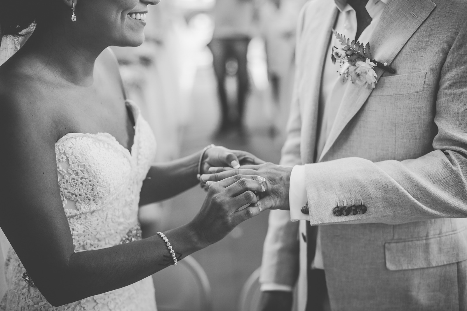 ceremony-weddings-rings-bride-groom-smile-church